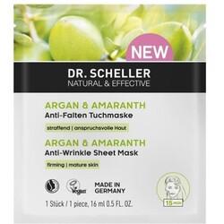 DR. SCHELLER ARGANÖL & AMARANTH Argan & Amaranth Tuchmaske