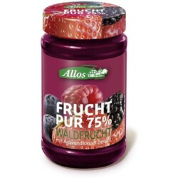 Allos Frucht pur 75% Waldfrucht