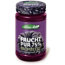 Allos Frucht pur 75% Brombeere