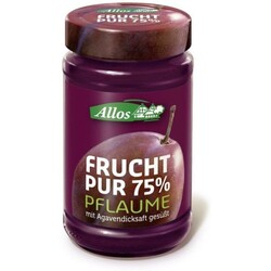 Allos Frucht pur 75% Pflaume