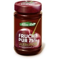 Allos Frucht pur 75% Sauerkirsche