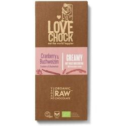 Lovechok Cranberry Buchweizen Raw Mylk Choc
