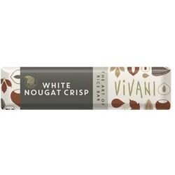 Vivani White Nougat Crisp Riegel