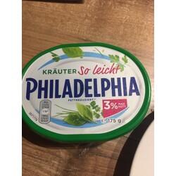 Philadelphia Kräuter So Leicht,3 % Fett abs.