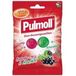 Pulmoll Duo-Gummipastillen Beeren&Menthol, 100 g