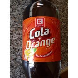 K Classic Cola + Orange
