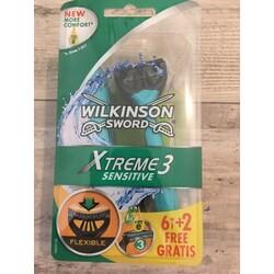 Wilkinson Xtreme 3 Sensitive Einwegrasierer