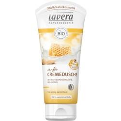 Sanfte Cremedusche Bio-Mandelmilch & Bio-Honig