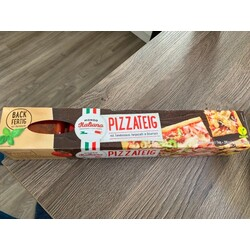 Mondo Italiano Pizzateig mit Tomatensauce
