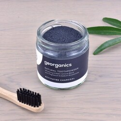 Georganics Natural Toothpowder – Activated Charcoal