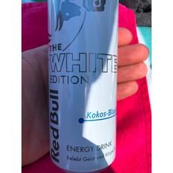 Red Bull - The White Edition - Kokos-Blaubeere