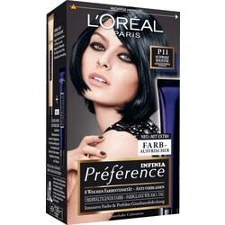 Préférence Infinia Haarfarbe Intensives kühles Schwarz Booster P11, 1 St