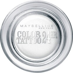 Maybelline New York Lidschatten Eyestudio Color Tattoo Eyeshadow infinite white 45