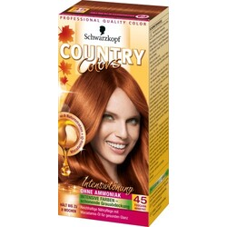 Schwarzkopf Country Colors Tönung Toscana Herbstrot 45, 1 St