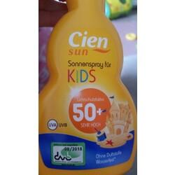 Cien Sun Sonnenspray für Kids