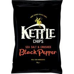 Kettle Chips - Sea Salt with Black Pepper (150g Tüte)