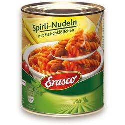 Erasco Spirli-Nudeln mit Fleischklößchen