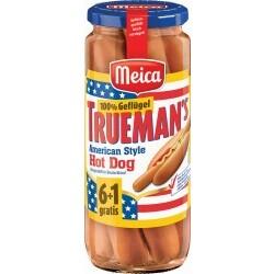 Meica Trueman's Hot Dog Würstchen Geflügel