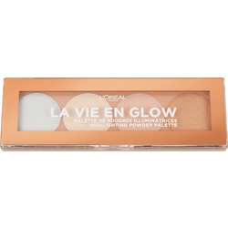 L'ORÉAL PARIS Highlighter La Vie en Glow Palette 02
