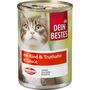 Dein Bestes Nassfutter für Katzen mit Rind & Truthahn, in Sauce