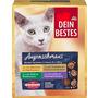 Dein Bestes Nassfutter für Katzen, Augenschmaus, Vorteilspack Beutel in Sauce, 8 x 100 g