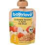 babylove Quetschbeutel Erdbeere-Banane in Apfel mit Müsli ab 1 Jahr