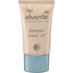 alverde NATURKOSMETIK Mineral Make-up golden honey 07