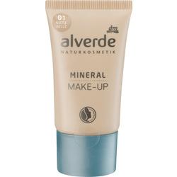 alverde NATURKOSMETIK Mineral Make-up naturelle 01