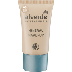 alverde NATURKOSMETIK Mineral Make-up beige rosé 03