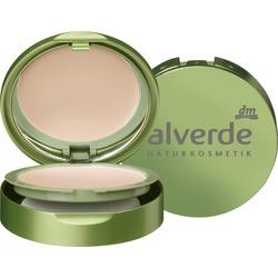 alverde NATURKOSMETIK Kompakt Make-up light-beige 010