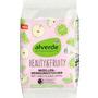 alverde NATURKOSMETIK Mizellen-Reinigungstücher Beauty & Fruity Bio-Limette Bio-Apfel