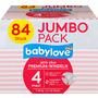 babylove Windeln Premium aktiv plus Größe 4, maxi 7-18kg, Jumbo Pack 2x42 Stück