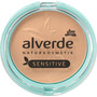 alverde NATURKOSMETIK Gesichtspuder Mattifying Powder Sensitive Medium Beige 02