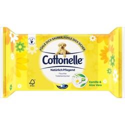 Cottonelle Feuchtes Toilettenpapier Natürlich Pflegend