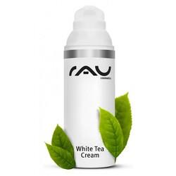 RAU Cosmetics White Tea Cream mit weissem Tee und Aloe Vera (Crème  50ml)