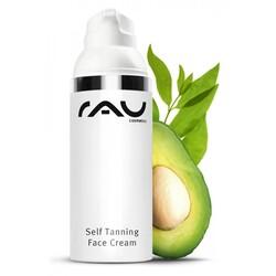 RAU Self TANNING Face Cream - Selbstbräuner mit UV Schutz