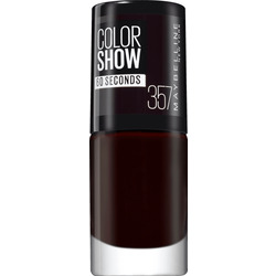 Maybelline New York Nagellack Colorshow 60 Seconds burgundy kiss 357