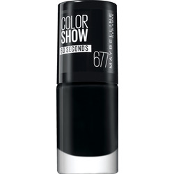 Maybelline New York Nagellack Colorshow 60 Seconds blackout 677