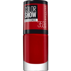 Maybelline New York Nagellack Colorshow 60 Seconds red 353