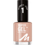 MANHATTAN Cosmetics Nagellack Super Gel Nail Polish Mauvelicious 155