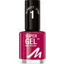 MANHATTAN Cosmetics Nagellack Super Gel Nail Polish Berry Love 375