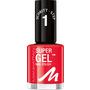 MANHATTAN Cosmetics Nagellack Super Gel Nail Polish Devious Red 625