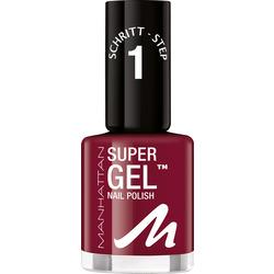 MANHATTAN Cosmetics Nagellack Super Gel Nail Polish Seductive Red 685