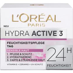 L'ORÉAL PARIS Tagescreme Hydra Active 3 Trockene Sensible Haut