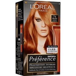 Préférence Infinia Haarfarbe Kupferblond 74, 1 St