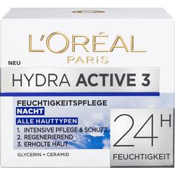 L'ORÉAL PARIS Nachtcreme Hydra Active 3