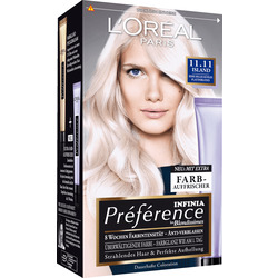 Préférence Infinia Haarfarbe Eisblond Sehr helles kühles Platinblond 11.11, 1 St