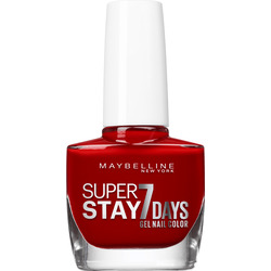 Maybelline New York Nagellack Superstay Forever Strong 7 Days deep red 06