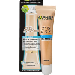 Garnier BB Cream GetönteTagescreme BB Cream Matt-Effekt Hell