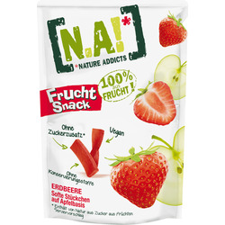 N.A! Frucht Snack, Fruchtstücke Erdbeere